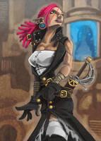 Sky Pirate Princess by Ekuneshiel