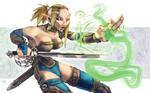 Portfolio: Lhiya, Swordmage