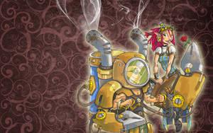 Steamy Robot Love v2 by Ekuneshiel