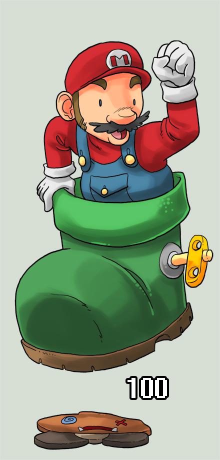Mario 128: Kuribo's Shoe by Ekuneshiel