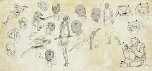 Sigil Character Sketchdump