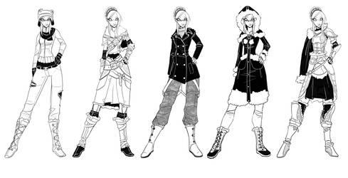 Miss OC Round 4 Designs by Ekuneshiel