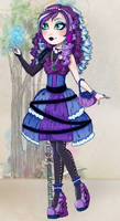 Ever After High: Eva Witch by Kinga-of-Queens