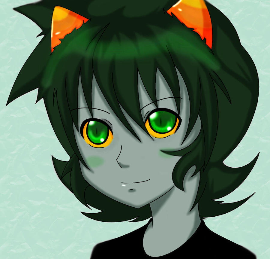 Smile Nepeta -color- by Monche-chi