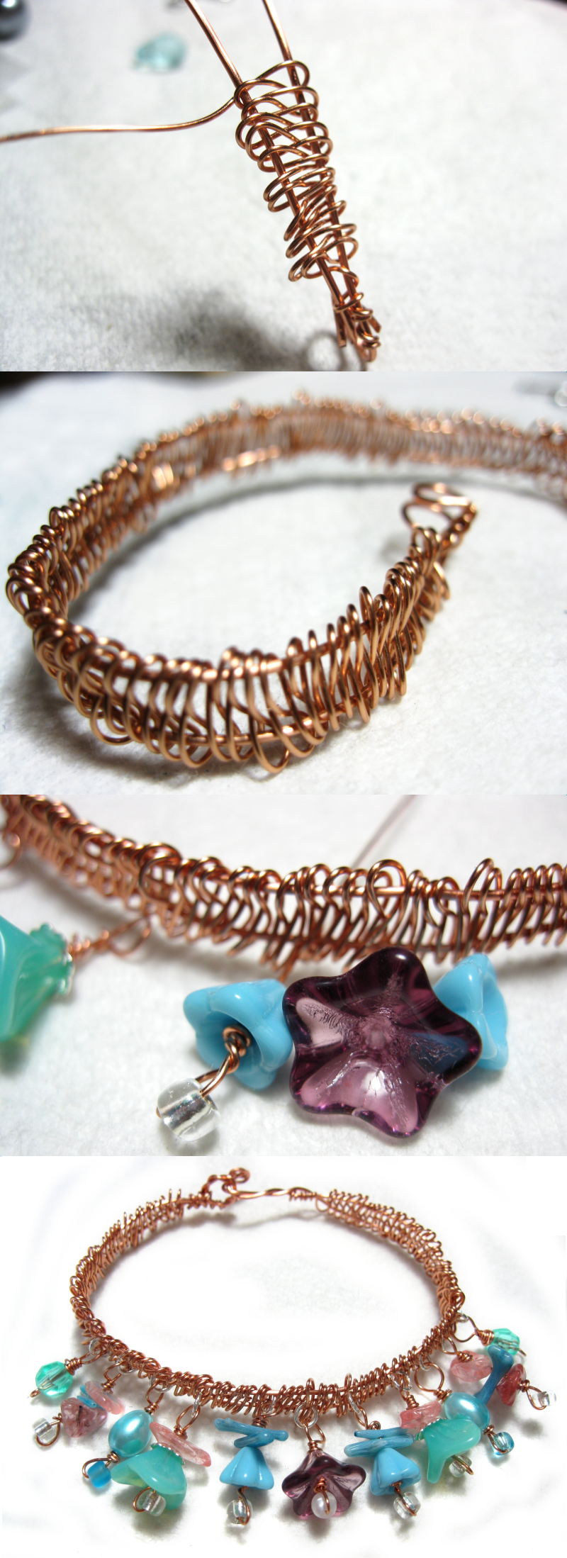 Copper Bracelet Tutorial by AtlantisAK-Jewelry