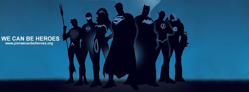 Timeline Facebook We can be heroes 2 by gixgeek