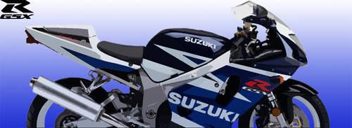 Banner GSXR 750 2001-2003