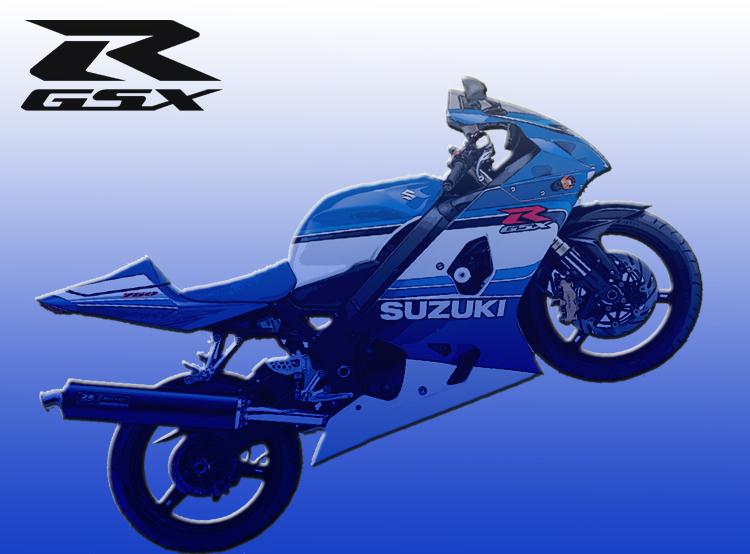 GSXR 750 2004 by gixgeek
