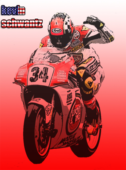 Kevin Schwantz by gixgeek