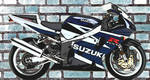 Gsxr on the wall