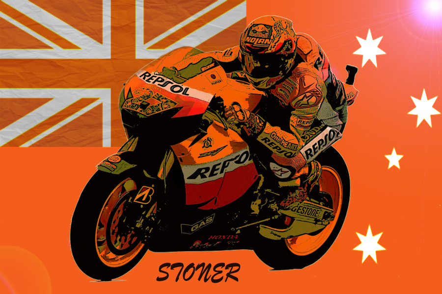 Casey Stoner by gixgeek