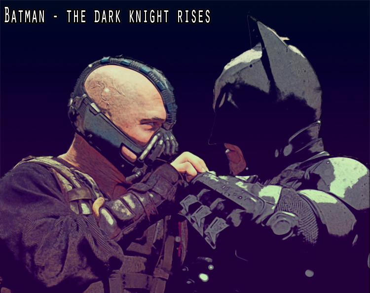 Batman - The dark knight rises by gixgeek
