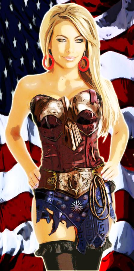 Wonder Woman Usa by gixgeek