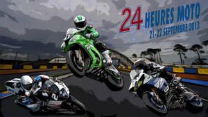 24 Heures Moto 2013 by gixgeek