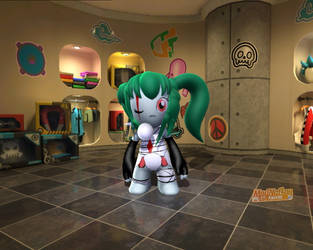 Blaire in modnation racers by GamistTH