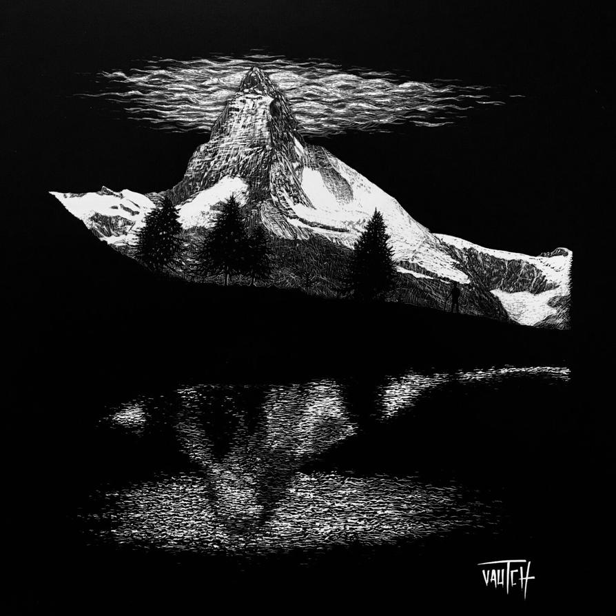Reflections - Matterhorn by Vautch