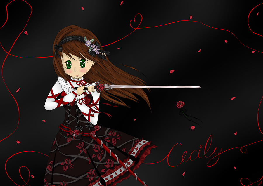 Warrior Cecily by Snibu