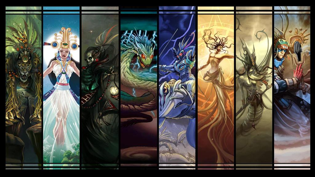 Mitos y Leyendas Aztecas by ibuki-san