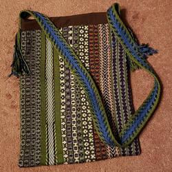 the finished kindle bag