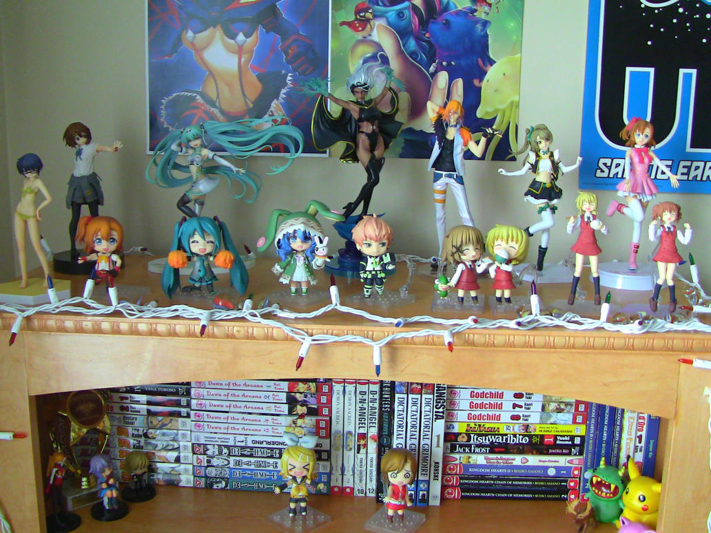 My Anime Figure Collection! by Animefreak291