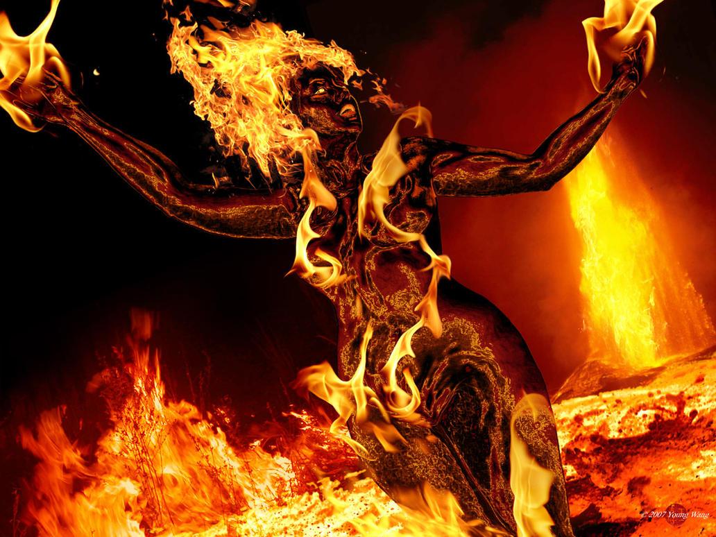 Making a Magma Druid - Halp Plz [3.5]Female Fire Elemental
