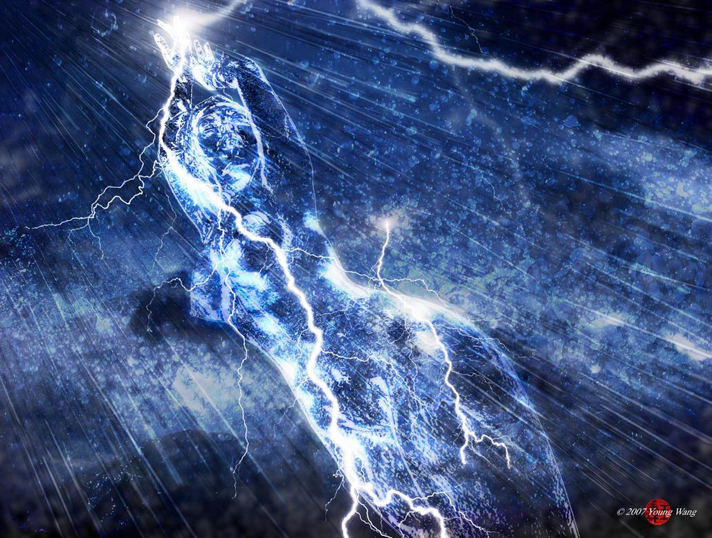 Storm Elemental by HoiHoiSan
