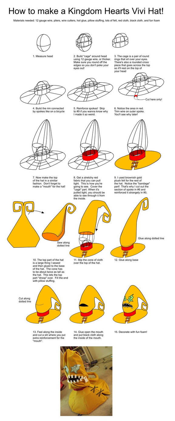 Vivi Hat Tutorial by HoiHoiSan
