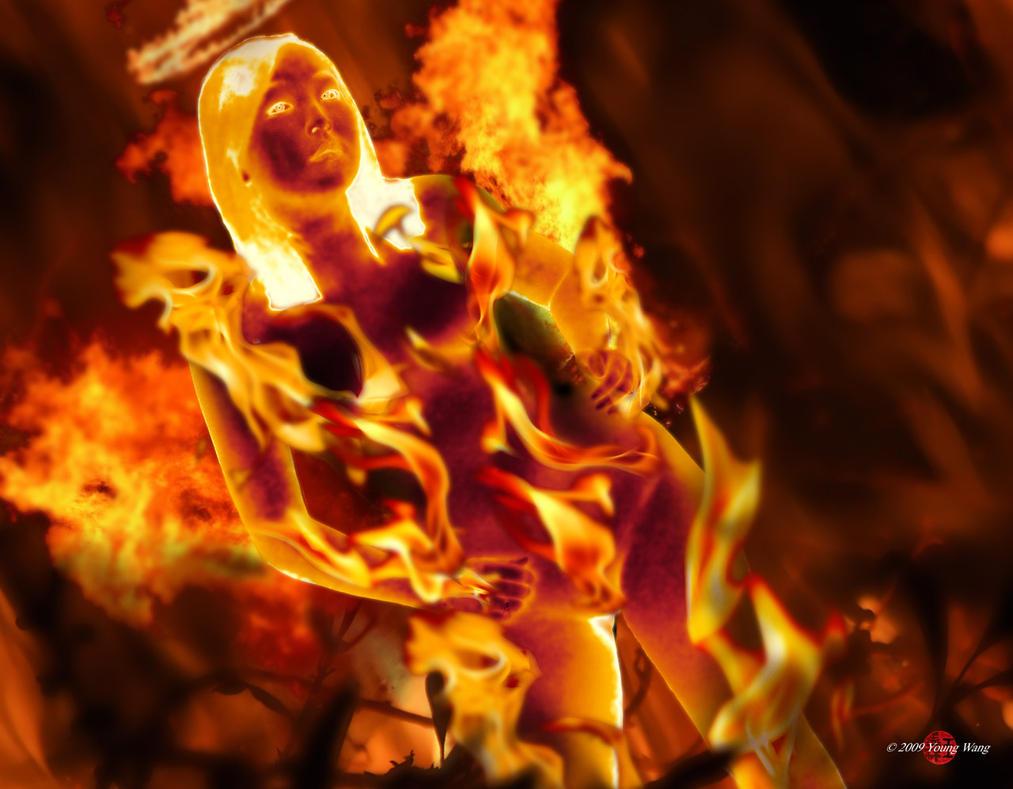 Flame Angel by HoiHoiSan