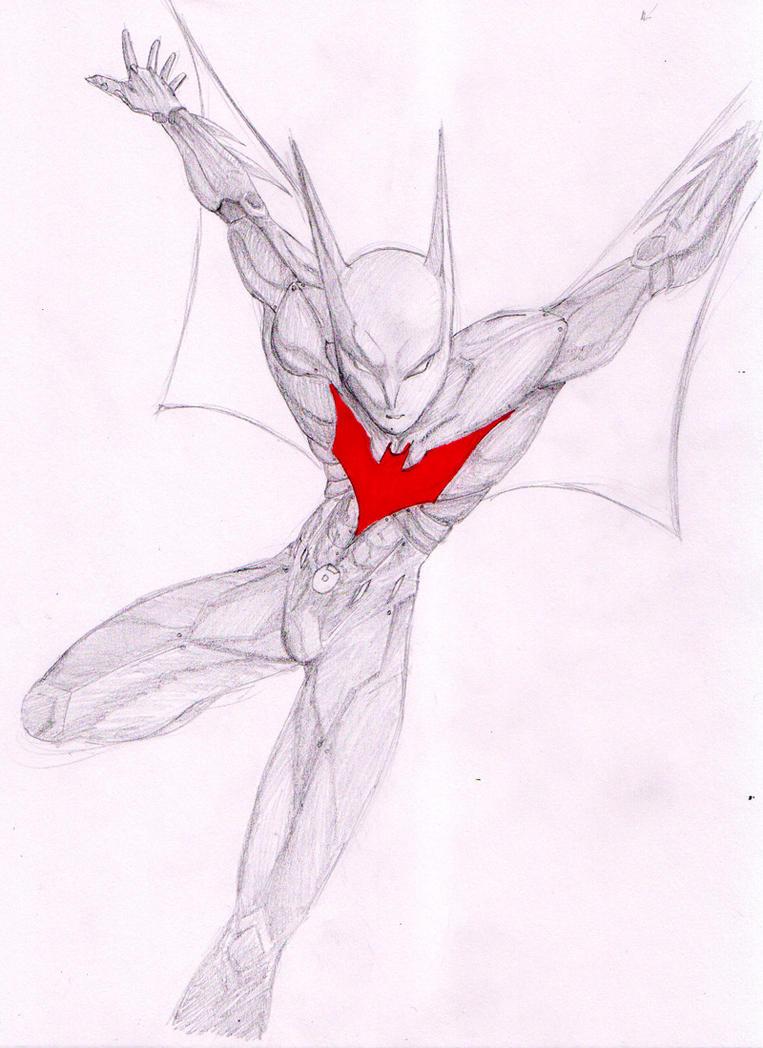 How To Draw BATMAN BEYOND