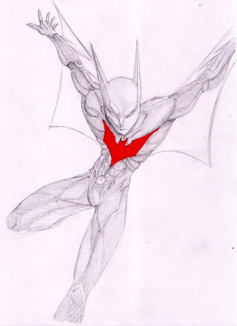 batman beyond by hoihoisan on deviantart
