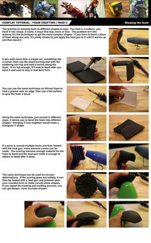 Cosplay Tutorial Page 2: Foam Bending