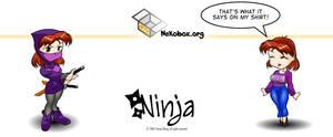 Ninja Mug by HoiHoiSan