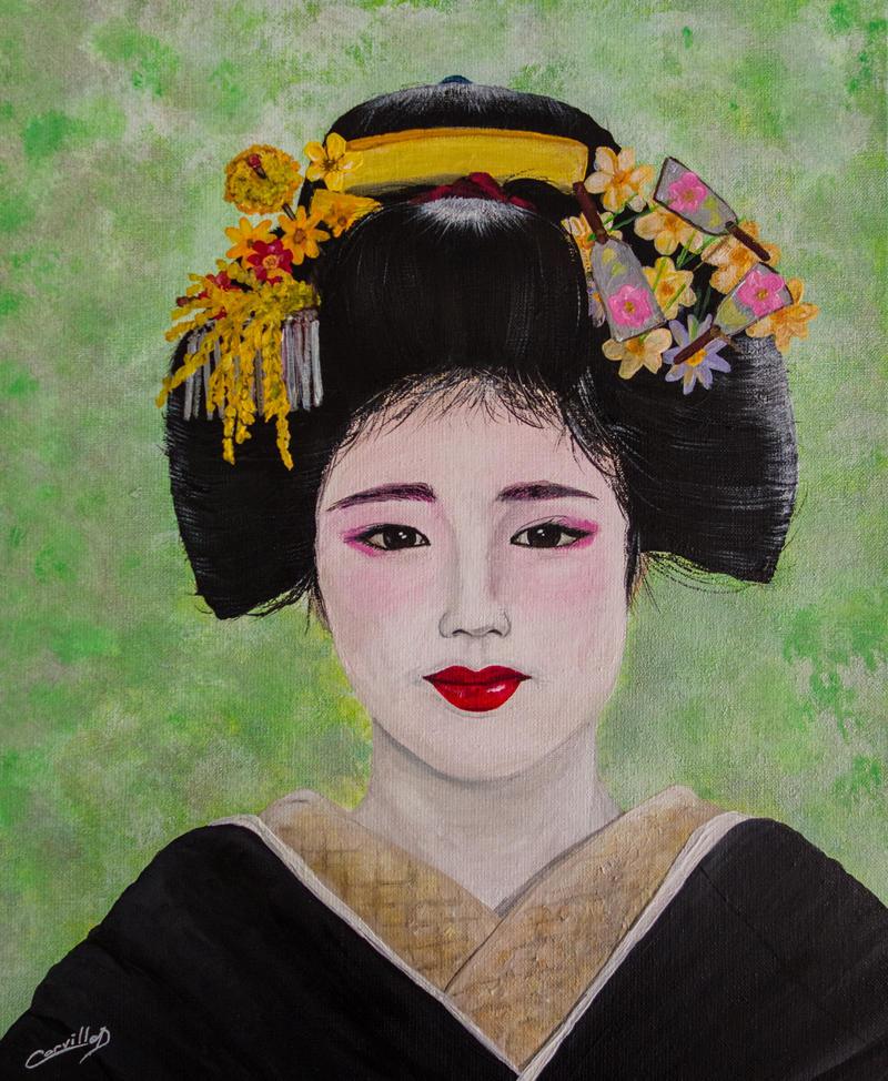 geisha bienveillance by dc58