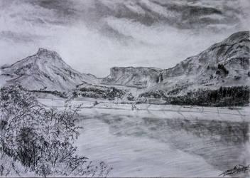 Lac de Roselend by dc58