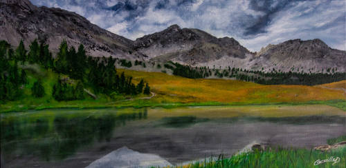Le lac Miroir