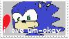 um-okay stamp by um-okay