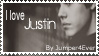 Justin Bieber Stamp by AlwaysADancer