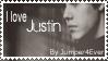 Justin Bieber Stamp by AlwaysADancer