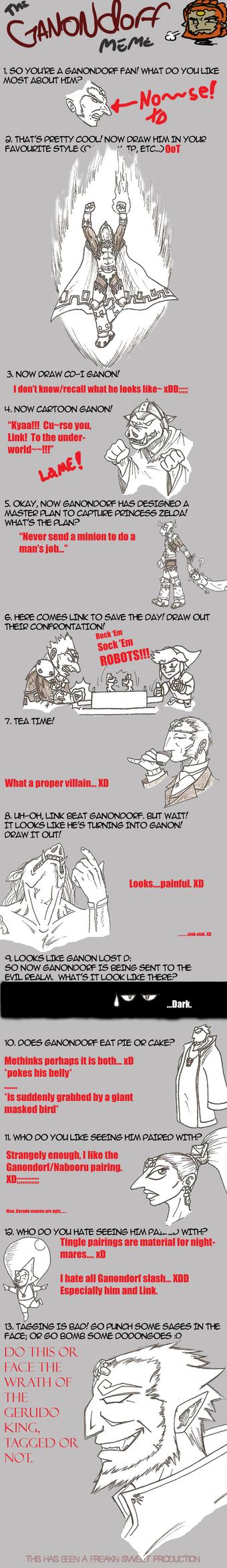 Ganondorf Meme by KaizokuShojo