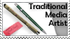 Traditional Media Stamp