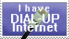 Dial Up Internet Stamp by KaizokuShojo