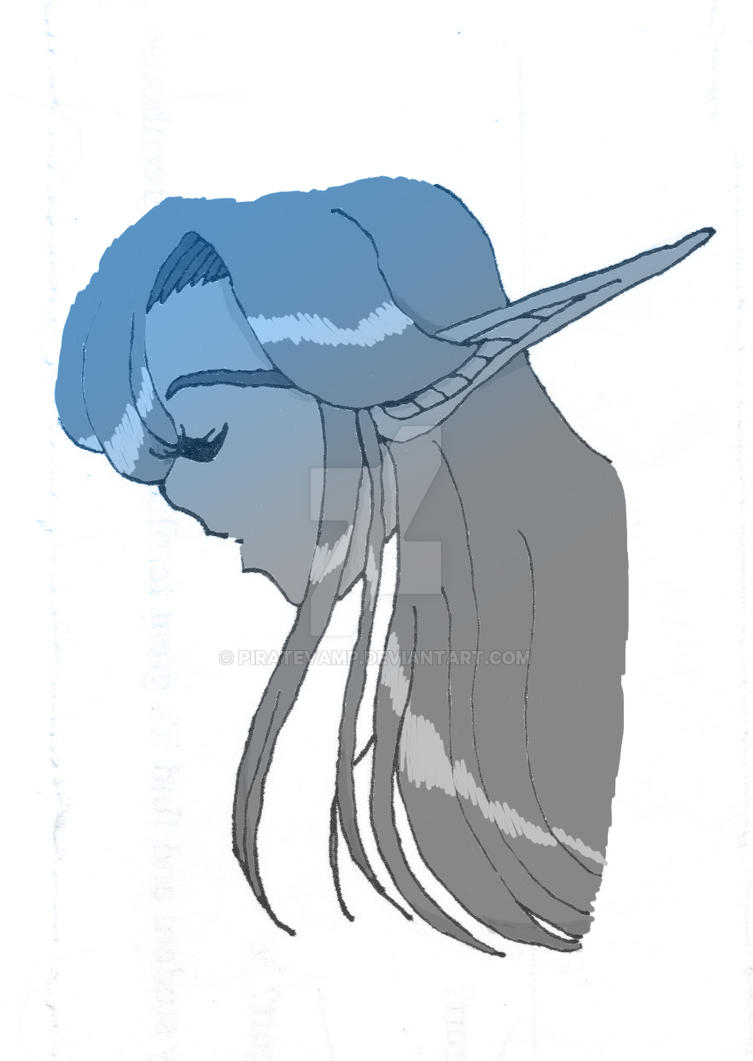 Night Elf COLORED by piratevamp
