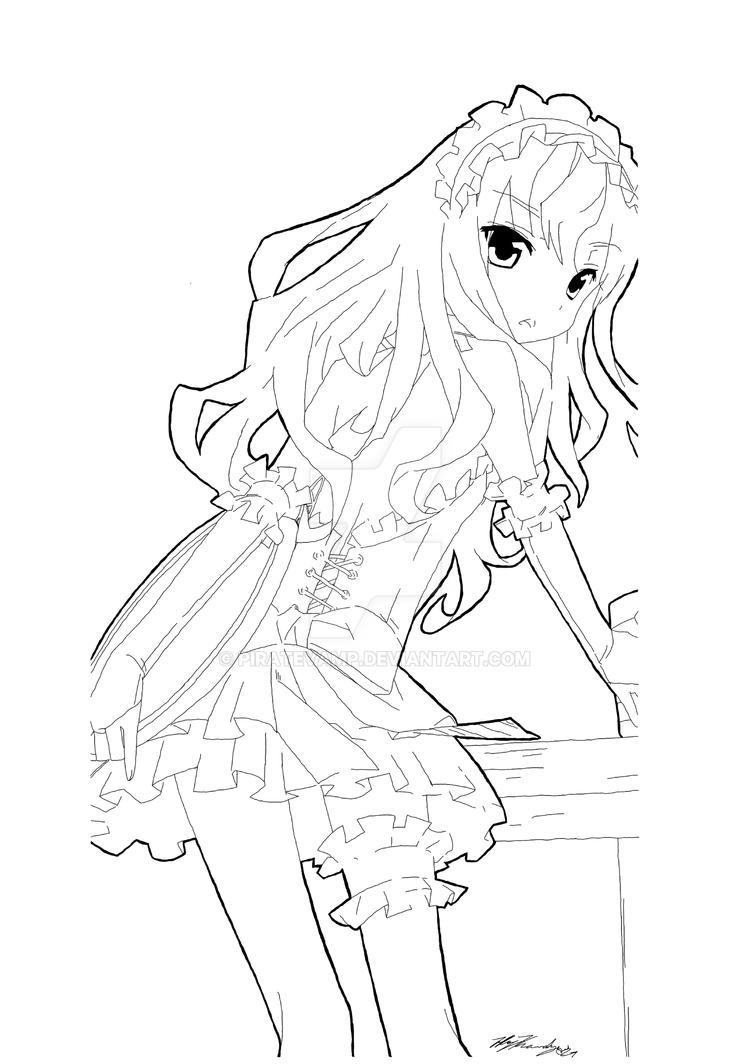 Louise - Zero No Tsukaima Blank 03 by piratevamp