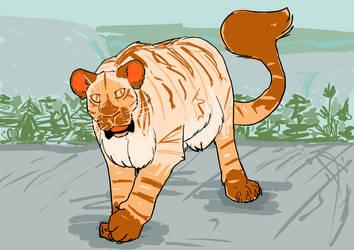 Giant Mama Tigerfox