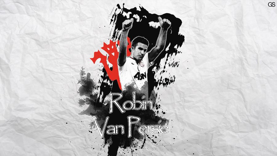 Robin van persie wallpaper by gs15 on deviantart robin van persie wallpaper by gs15 voltagebd Image collections