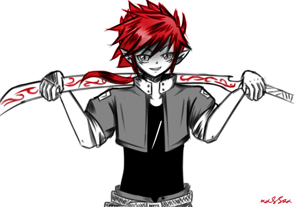 Red Blood Soul Frankenstein