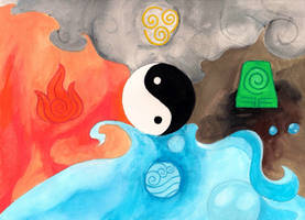 The Four Elements by the-elemental-writer