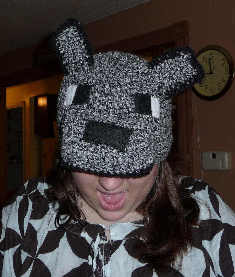 Minecraft Wolf Hat by Branwen-o-Nefyn ... & Minecraft Wolf Hat by Branwen-o-Nefyn on DeviantArt
