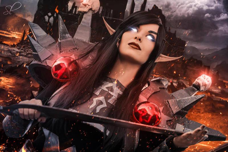 Blood Elf - World of Warcraft by Bl0oDy4nGeL
