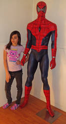 Life Size Spidey Spider-Man by Yourkillercustoms by YOURKILLERCUSTOMS